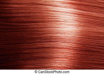 capelli, rosso, struttura