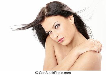 capelli volanti, bellezza