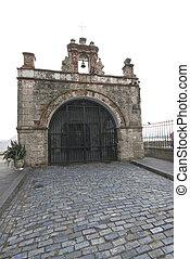 capilla el cristo on cobble stone road - capilla chapel el...
