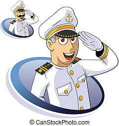 capitán, marina