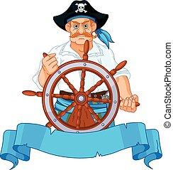 capitão, pirata