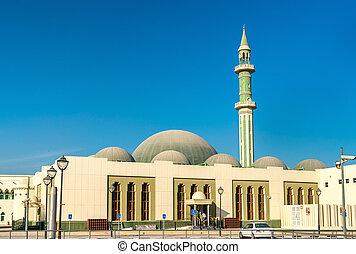 capital, al, shouyoukh, mezquita, doha, qatar.