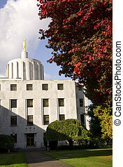 Capital Building in Salem Oregon United States