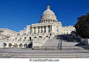 Capital Hill Building in Washington DC