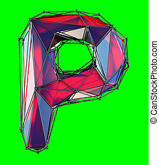 a4038b33b280d Latin letter p. Single capital latin letter p.