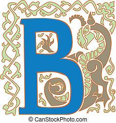 capital letter B