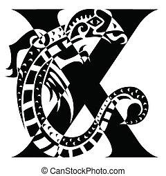 capital letter X