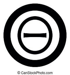 capital, mayúscula, negro, estilo, color, plano, círculo, ...