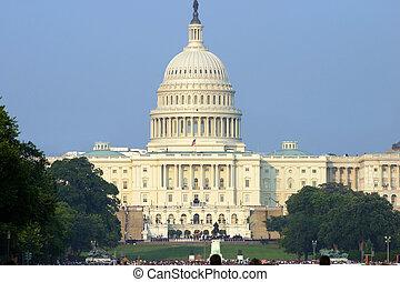 US Capital rotunda after Ronald Reagan's funeral procession