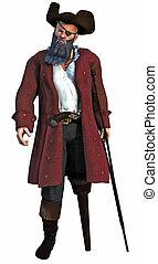 capitano, pirata