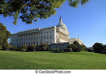 Capitol Building and lawn