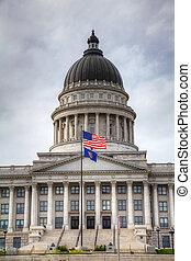 Capitol building in Salt Lake City, Utah
