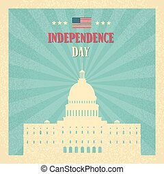 Capitol Building United States Of America Senate House Independence Day