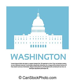 Capitol Building United States Of America Senate House Washington