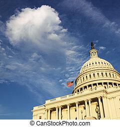Capitol Building, Washington DC. - Capitol Building in...