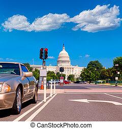 Capitol building Washington DC USA