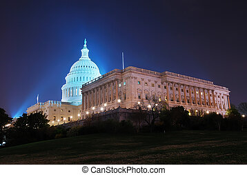 capitol, c.c. washington, nós