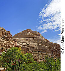 Capitol Dome-Capitol Reef National Park