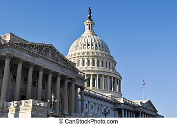 Capitol Hill Building in United States of America