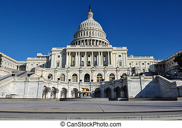 Capitol Hill Building in Washington DC