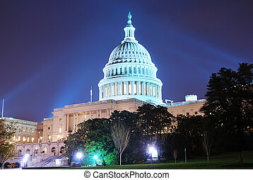 Capitol Hill Building, Washington DC - Capitol hill building...
