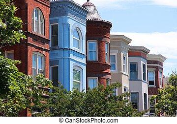 Capitol Hill, Washington - Washington DC, capital city of...