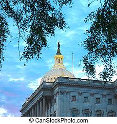 capitole américain, washington, bâtiment