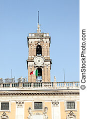 Capitoline in Rome, Italy - Tower of Capitoline, Rome, Italy