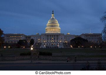 capitolio estados unidos, en, washington dc