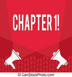 capitolo, concetto, parola, affari, testo, cominciando, nuovo, scrittura, ones, qualcosa, grande, fabbricazione, journey., changes, o, 1.
