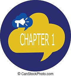 capitolo, nota, storytelling, affari, foto, esposizione, od, scrittura, progetto, inizio, libro, showcasing, nuovo, 1., opportunità, ispirazione