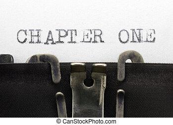 capitolo, uno