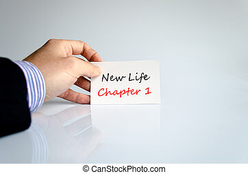 capitolo, vita, concetto, testo, 1, nuovo