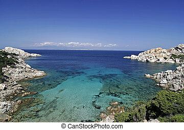 Capo Testa, near Santa di Gallura, Sardinia, Italy - Capo ...
