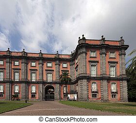 Capodimonte Museum in Naples, Italy - Capodimonte Museum is...