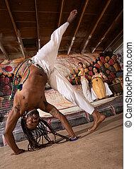 Capoeira Cartwheel