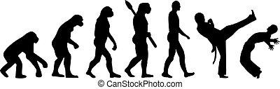 capoeira, evolutie
