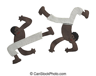 capoeira patchwork