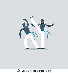 capoeira, sportende, spel