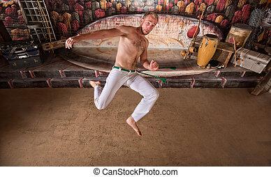 Capoeira Twisting Kick