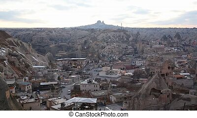 Cappadocia Fairy Chimneys Landscape in Turkey
