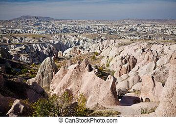 cappadocia, geológico, milagre