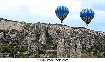 Cappadocia turkey nature baloon fly fairy chimney miracle...