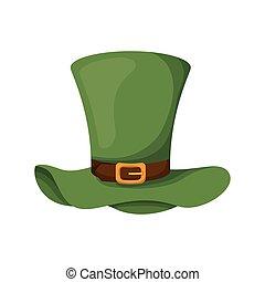 cappello gnomo, isolato, icona