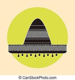 cappello messicano, disegno