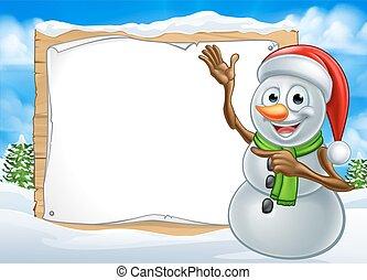Cappello pupazzo nve natale santa pupazzo di neve il - Cartone animato natale agrifoglio di natale ...