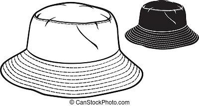 cappello secchio, collezione