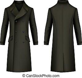 cappotto, uomo