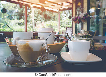 Tasse A Cafe Esspresso