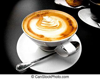 cappuccino, italiensk